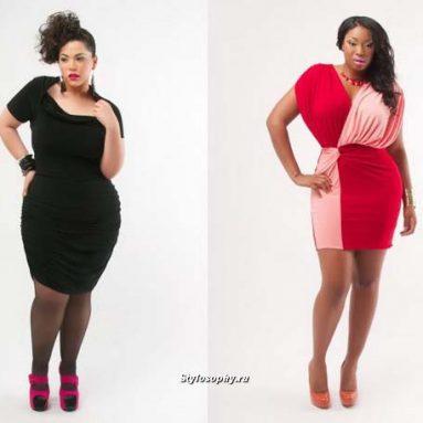Фасоны платьев для полных женщин: фото, модели, варианты